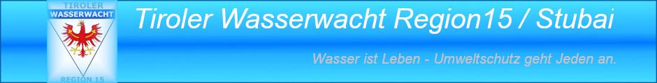 Tiroler Wasserwacht Region 15 Stubai